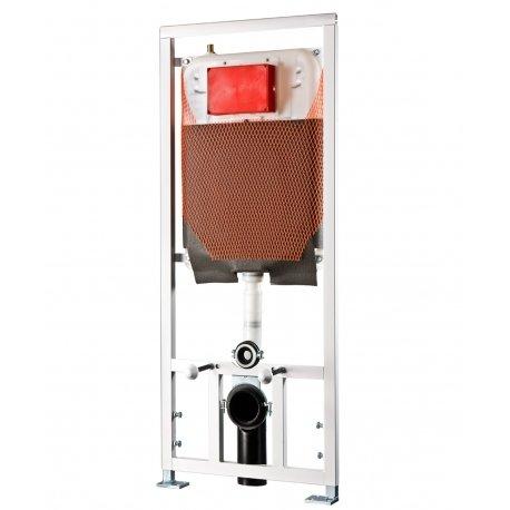 Modulo incasso Kariba TEKNO PRATIKA 9.0 a due volumi di risciacquo per vasi sanitari sospesi