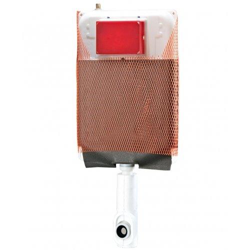 Cassetta incasso Kariba MONOLITH 9.0 a due volumi di risciacquo per vasi sanitari a pavimento, sospesi o alla turca