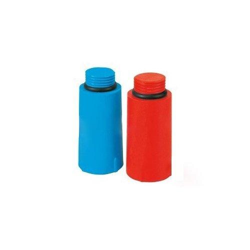 Tappo Prova Impianto blu e rosso