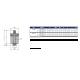 Valvola automatica sfogo aria in ottone stampato attacco maschio