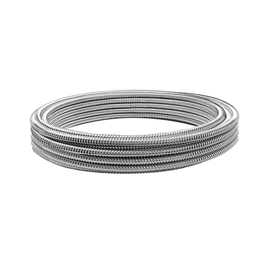 Tubo corrugato CSST in acciaio inox per acqua