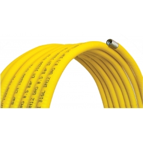 Tubo corrugato CSST in acciaio inox per GAS