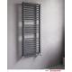 Radiatore termoarredo scaldasalviette dritto in acciaio al carbonio Lazzarini, modello Asti