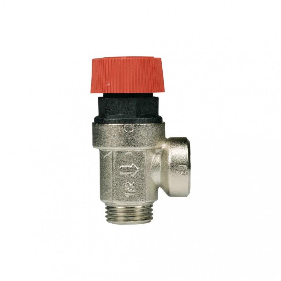 Valvola di sicurezza M/F a membrana
