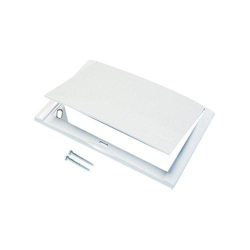 Placca bianca per cassetta incasso ispezionabile gas