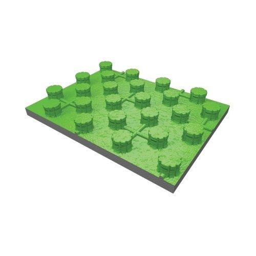 Pannello isolante in polistirene espanso sinterizzato con grafite, con superficie utile di 0,96 m² (a pannello)