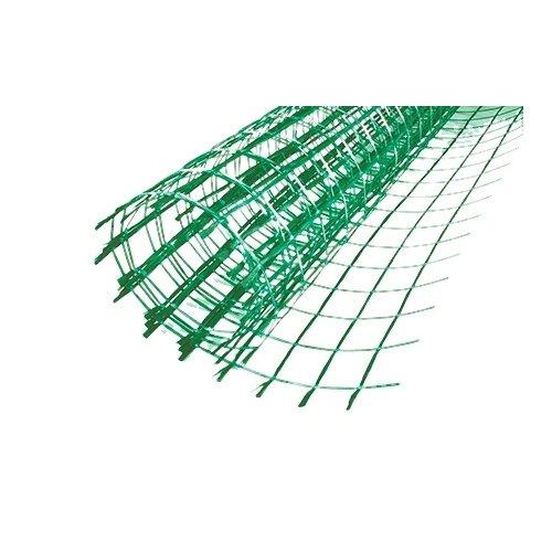 Rete in fibra di vetro trattata antialcalino per il rinforzo dei massetti in cemento con maniglie 40x40 mm