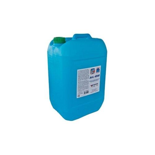 Additivo per massetti in calcestruzzo in soluzione acquosa composto da polimeri acrilici