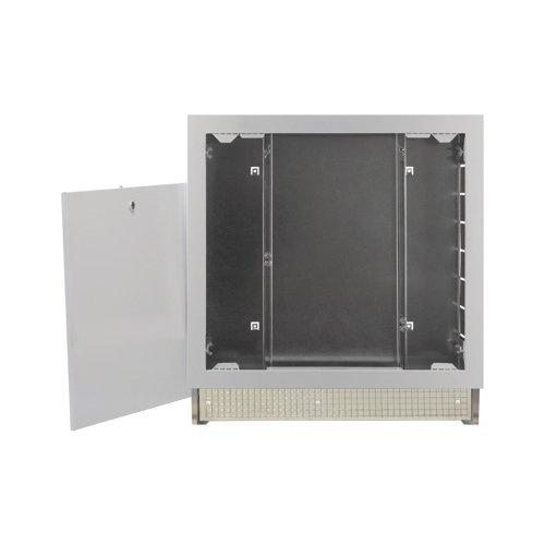 Cassetta per collettori regolabile in altezza e profondità