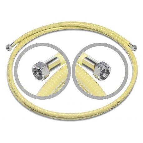 Tubo Corrugato CSST per GAS con dadi girevoli femmina alle estremità