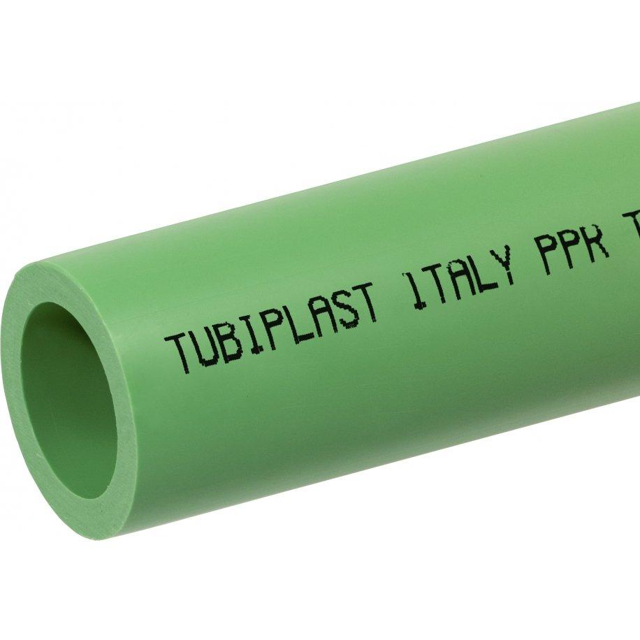 Tubo Polipropilene PP-R PPR verde a saldare in barre da 4 metri lineari