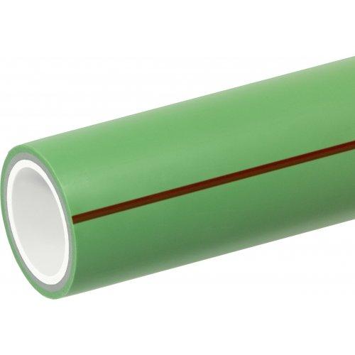 Tubo PP-R Pluristrato Fibrorinforzato in Barre da 4ML SDR 7,4