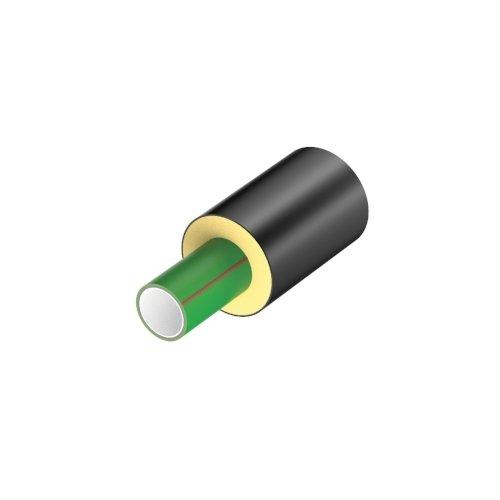 Tubo PP-R Pluristrato Fibrorinforzato SDR7.4 preisolato in barre da 5.8 metri lineari