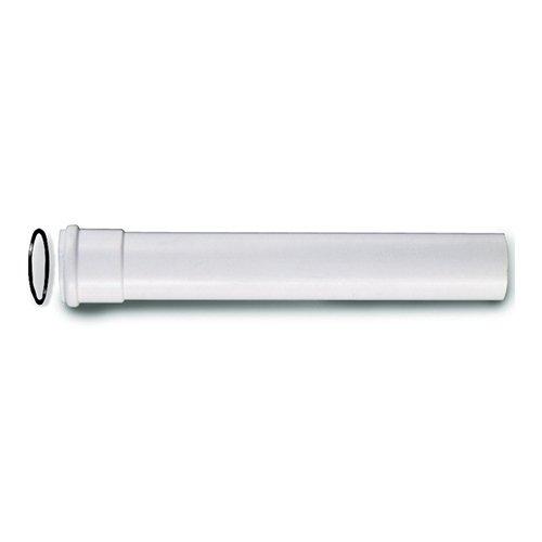 Canotto prolungato 26 cm Bianco/Cromato